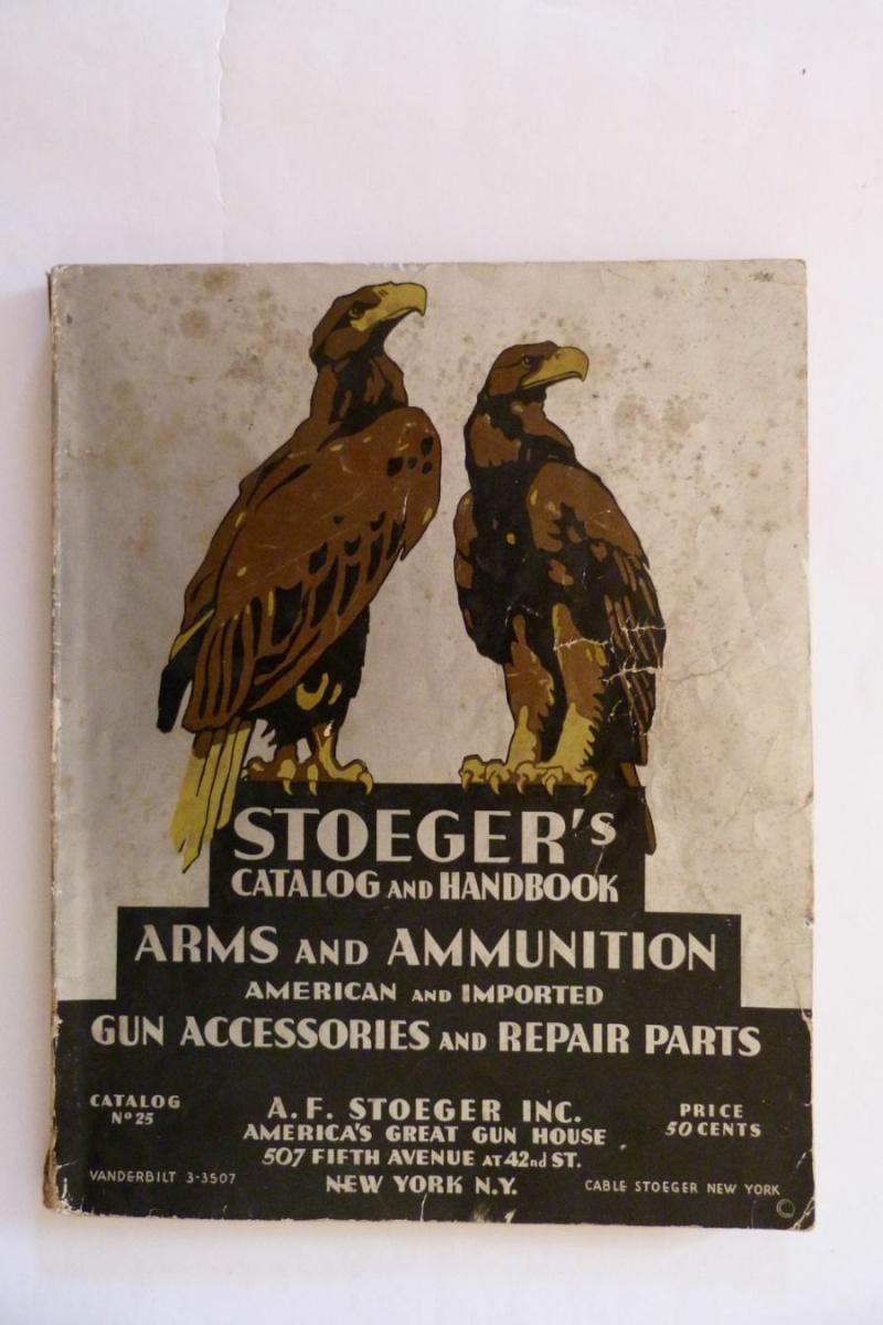 Le catalogue Stoeger, New York, année 1934 01210
