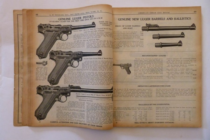 Le catalogue Stoeger, New York, année 1934 01411