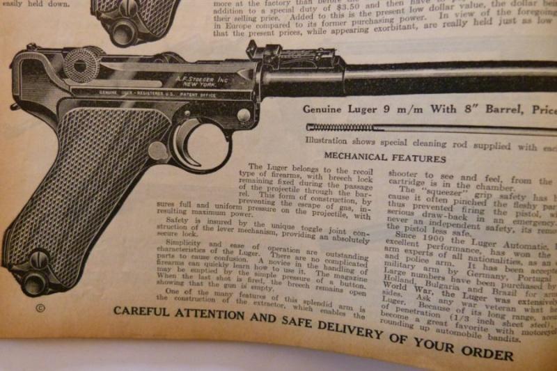 Le catalogue Stoeger, New York, année 1934 01510
