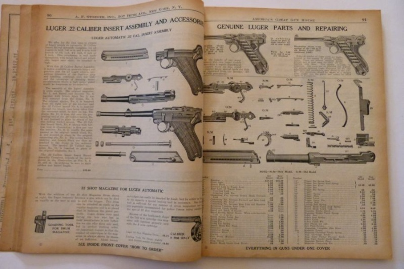 Le catalogue Stoeger, New York, année 1934 01610