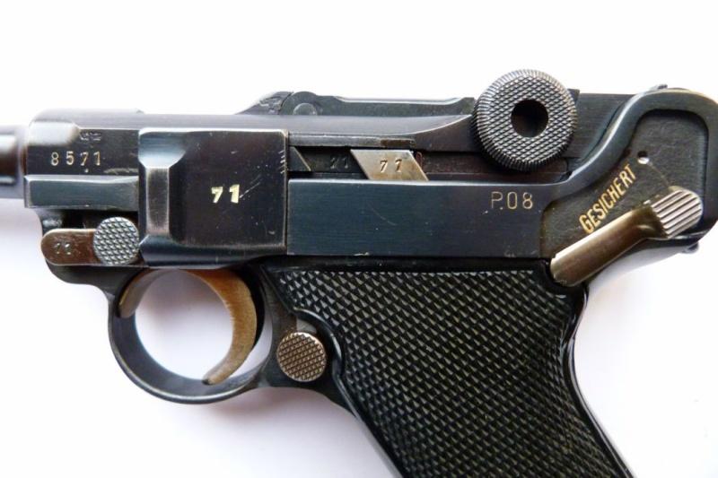 """Un rare Luger Mauser commercial """"banner"""", daté 42. Mauser10"""
