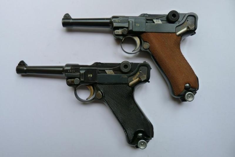 """Un rare Luger Mauser commercial """"banner"""", daté 42. Mauser12"""