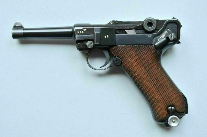 """Un rare Luger Mauser commercial """"banner"""", daté 42. Mauser13"""