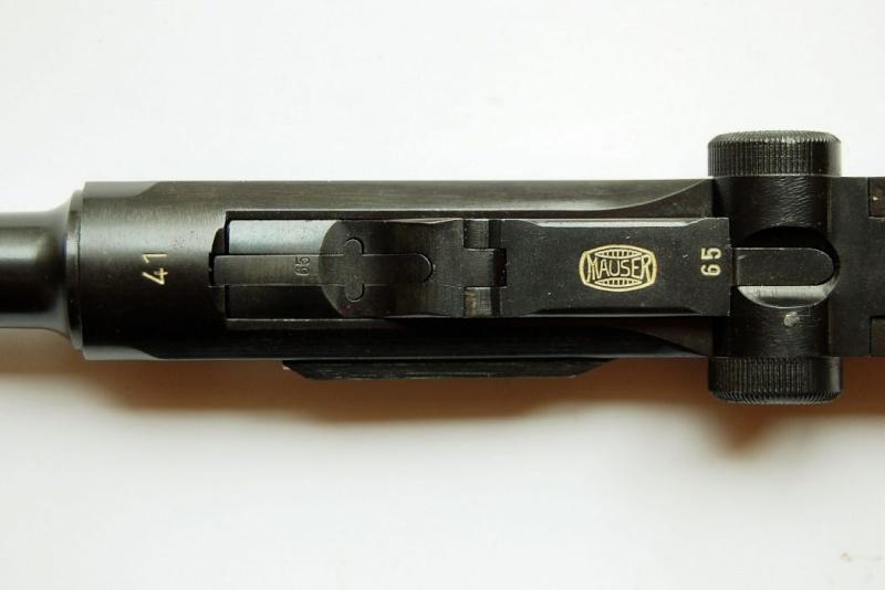 """Un rare Luger Mauser commercial """"banner"""", daté 42. Mauser15"""
