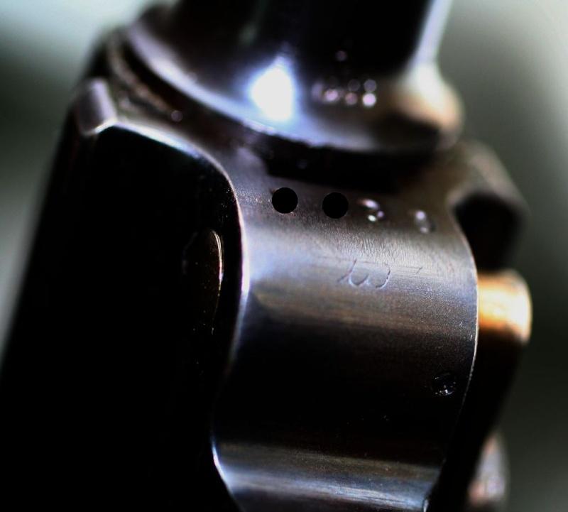 """Un rare Luger Mauser commercial """"banner"""", daté 42. P08_sa12"""