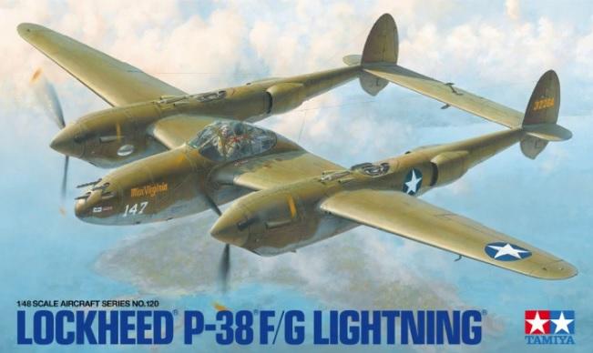 P-38 F Lightning - Tamiya 1/48 29404_10