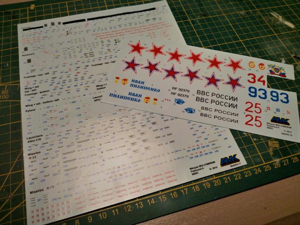 "Mikoyan-Gurevitch MiG-31 BM/BSM ""Foxhound"" (AMK 1/48) - Page 8 Img_2048"