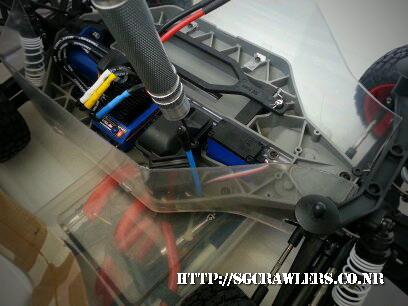 toyota - Boolean21's Traxxas Slash 4x4 Platinum Edition - Ivan Stewart Toyota Theme paint work 20121221