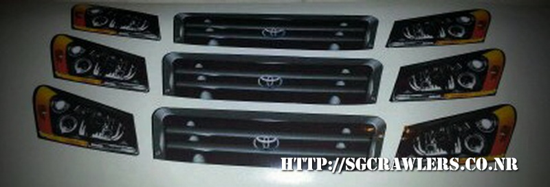 toyota - Boolean21's Traxxas Slash 4x4 Platinum Edition - Ivan Stewart Toyota Theme paint work Img-2010