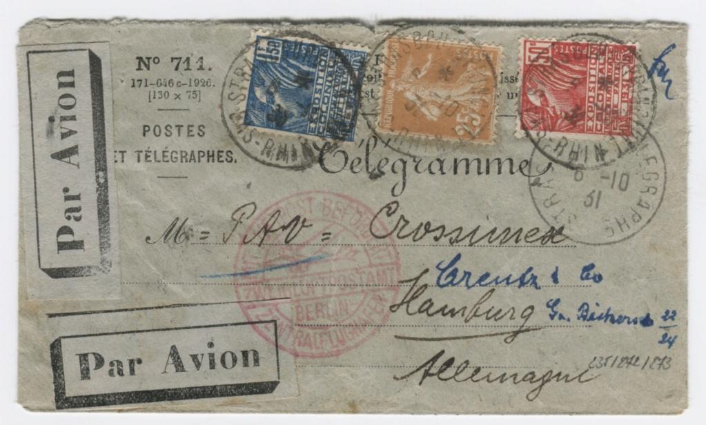 Télégramme pour l'étranger 2226_r10