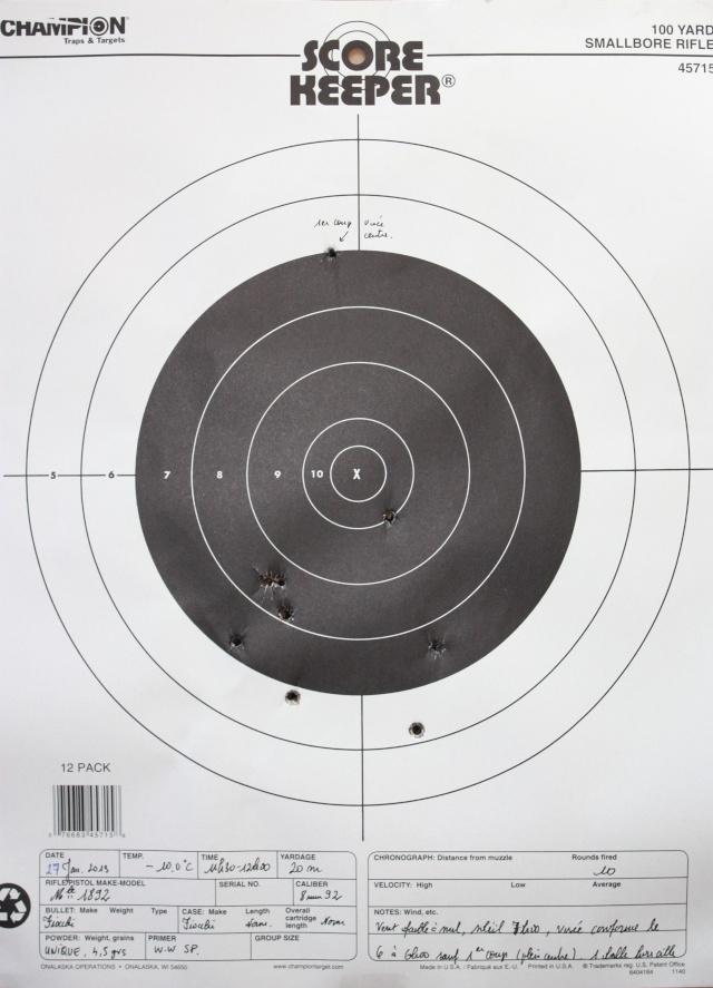TEST - le 8 mm  1892 - Page 2 Tir_1811