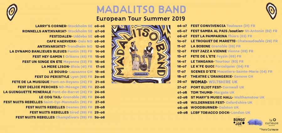 MADALISTO BAND |  Avis de concert Madali10