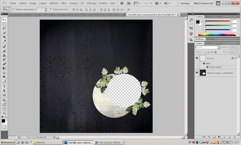 Votre aide pour débuter en Photoshop - Page 5 Screen13