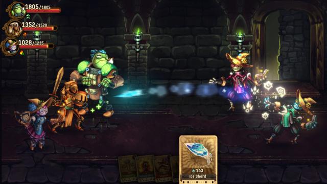 Steamworld Quest: hand of gilgamech[NSP][Mega] Steamw10