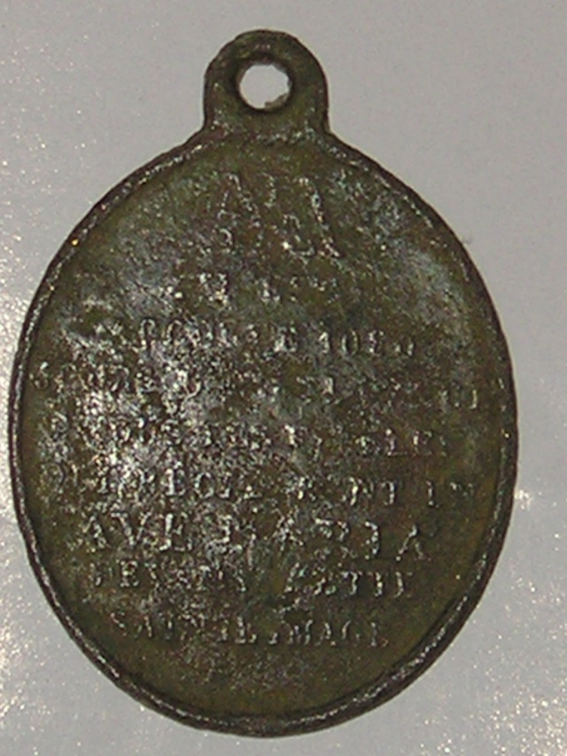 médaille religieuse brigittaine  P1010026