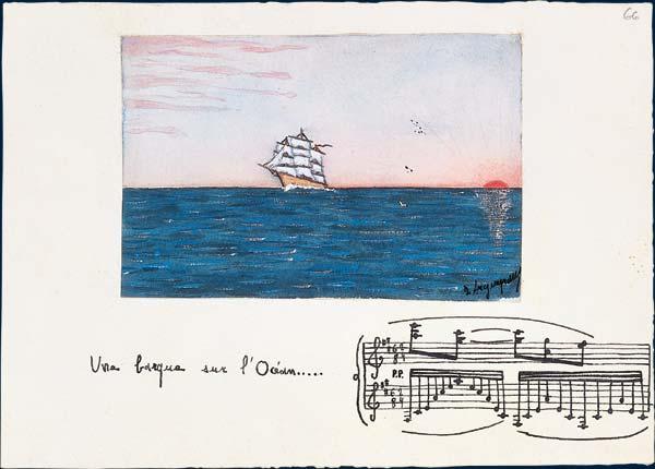 حصريا على اساطين النغم العمل الاوركسترالى Une barque sur l'océan (قارب فى المحيط) من اجمل اعمال موريس رافيل 12210