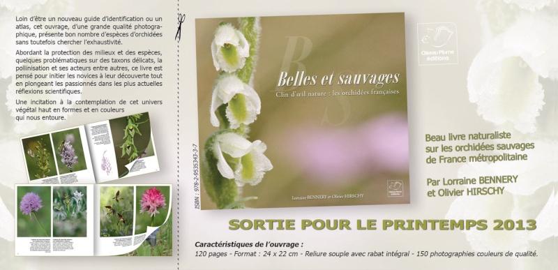 Belles et sauvages Une balade parmi les orchidées de France Souscr10