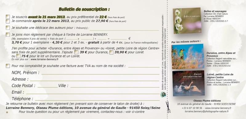Belles et sauvages Une balade parmi les orchidées de France Souscr11
