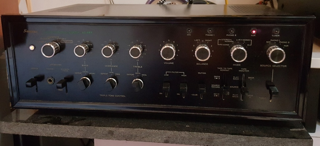 Sansui AU-999 integrated amplifier Au_99910