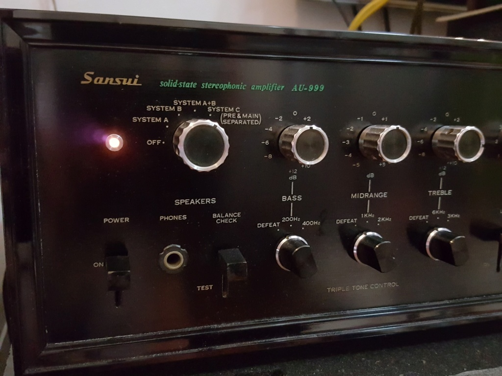 Sansui AU-999 integrated amplifier Sansui10