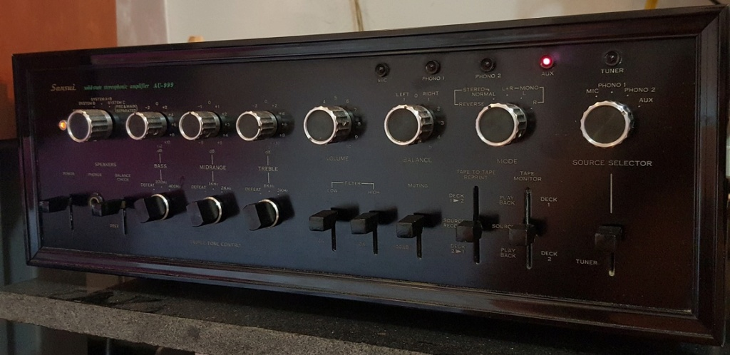 Sansui AU-999 integrated amplifier Sansui11