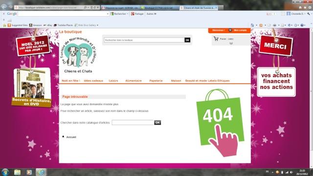 Boutique CCTNA via le net Boutiq11