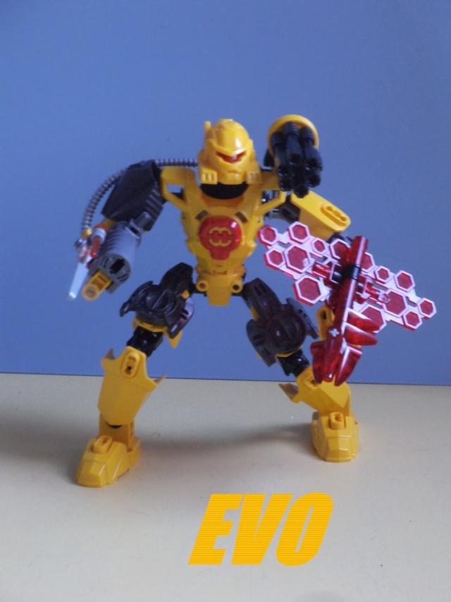 [MOC] Nouvelle version des rookie de l'équipe Alpha et autres MOC,par hero 57 Creati11