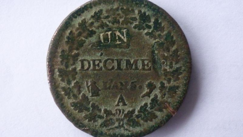 Un décime l'an 5 P1030410