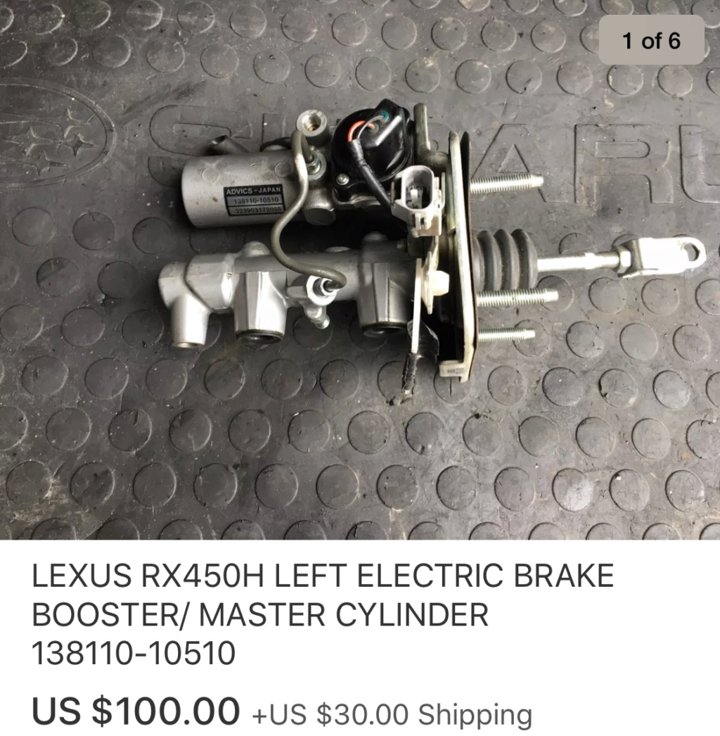 Electric brakes  A1658010