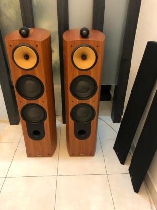 Bowers and Wilkins 803 Nautilus Floorstand Speaker (Used) 803_fr10