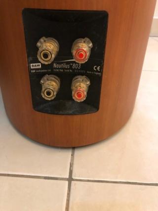 Bowers and Wilkins 803 Nautilus Floorstand Speaker (Used) 803bac10
