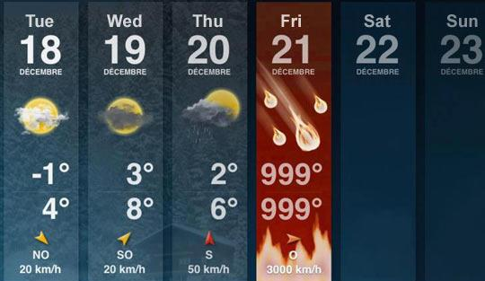Your Weekly Forecast Foreca10