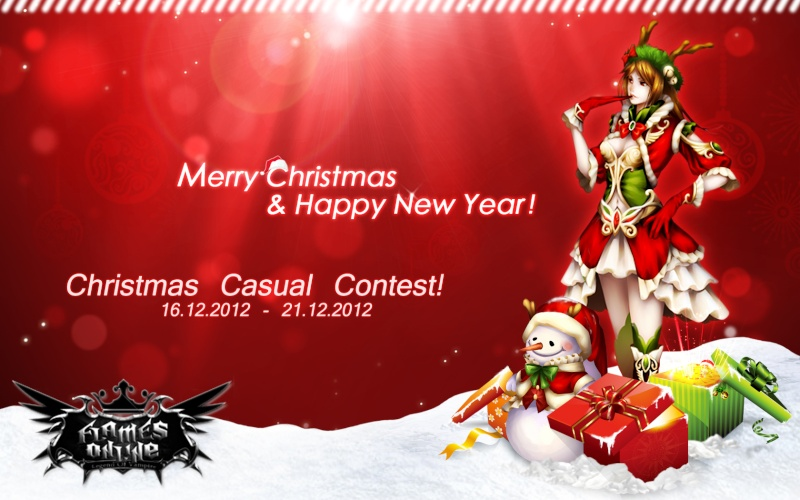 [Competition] Christmas Casual Editor!  Contes12