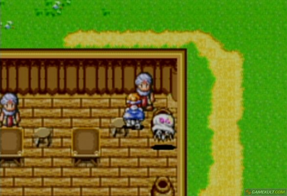 Shining Force Resurrection of the Dark Dragon (Test GBA) Me000014