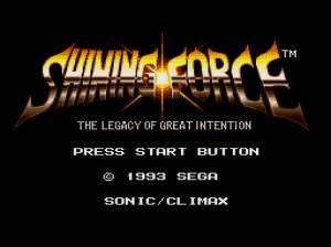 Shining Force Resurrection of the Dark Dragon (Test GBA) Shinin11