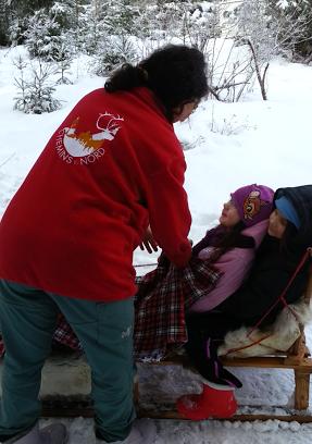 Tr:Notre séjour féerique parmi les rennes et les chiens de traineau...... - Page 2 Screen27
