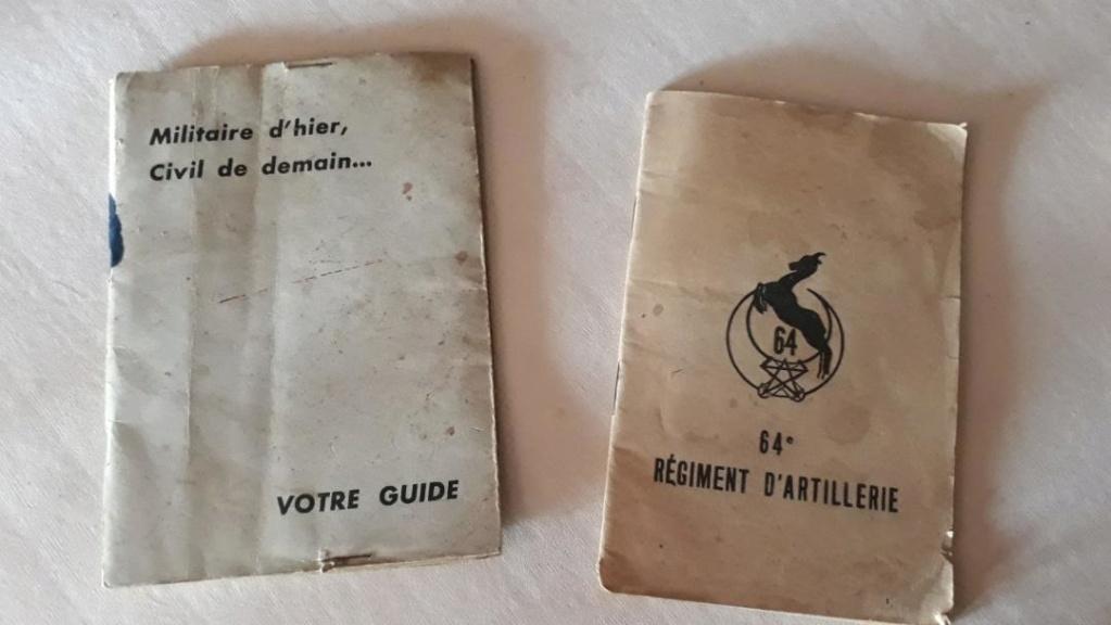 Document AFN  Algerie 64° RAA et pharmacie (?) ... Alg110