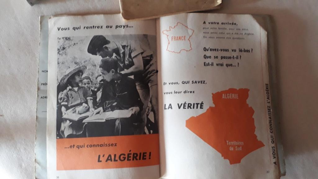 Document AFN  Algerie 64° RAA et pharmacie (?) ... Alg310