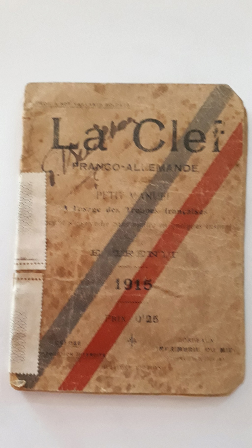 Document franco allemand 1915 Gui110