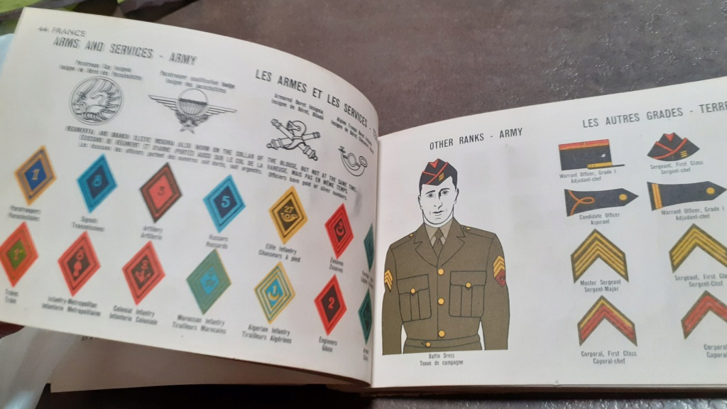 Livret uniformes OTAN 1952 Otan410