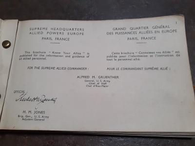 Livret uniformes OTAN 1952 Otan510