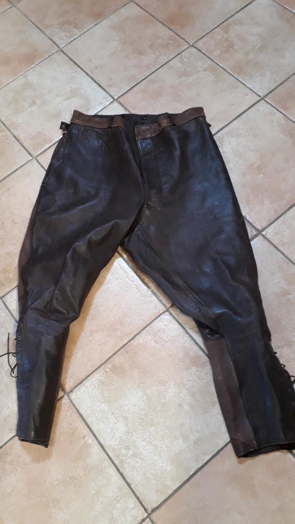 Pantalon cuir civil ou militaire ? Pant110