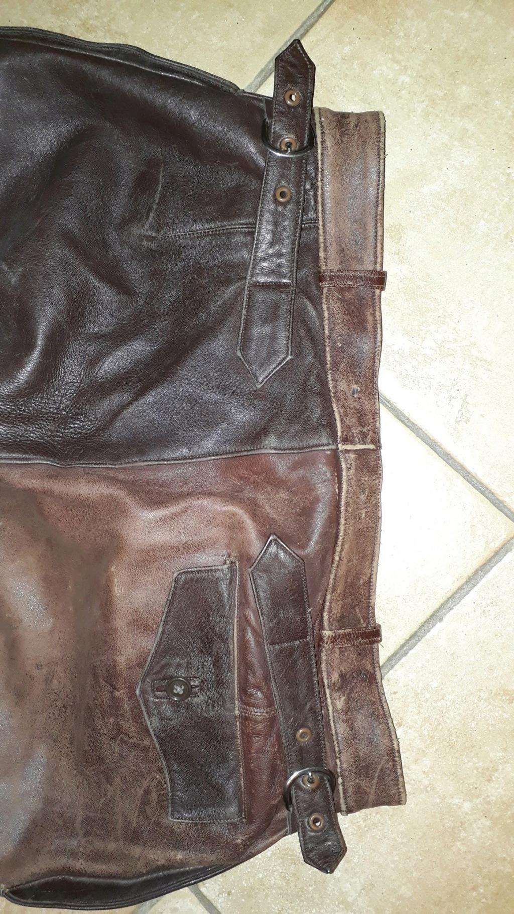 Pantalon cuir civil ou militaire ? Pantal10