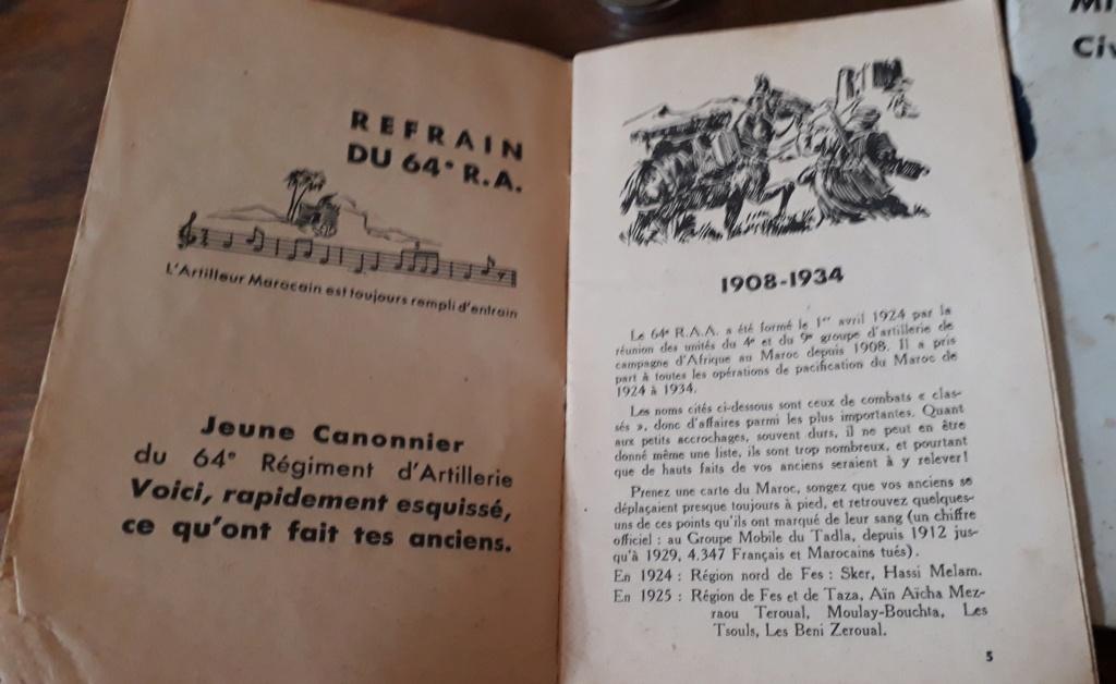 Document AFN  Algerie 64° RAA et pharmacie (?) ... Soixan10