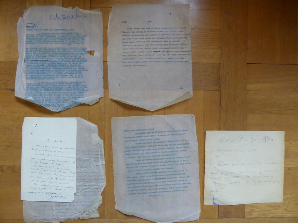 lot journaliste Havas de la guerre d'Espagne aux élections et procès post-45 P1030712