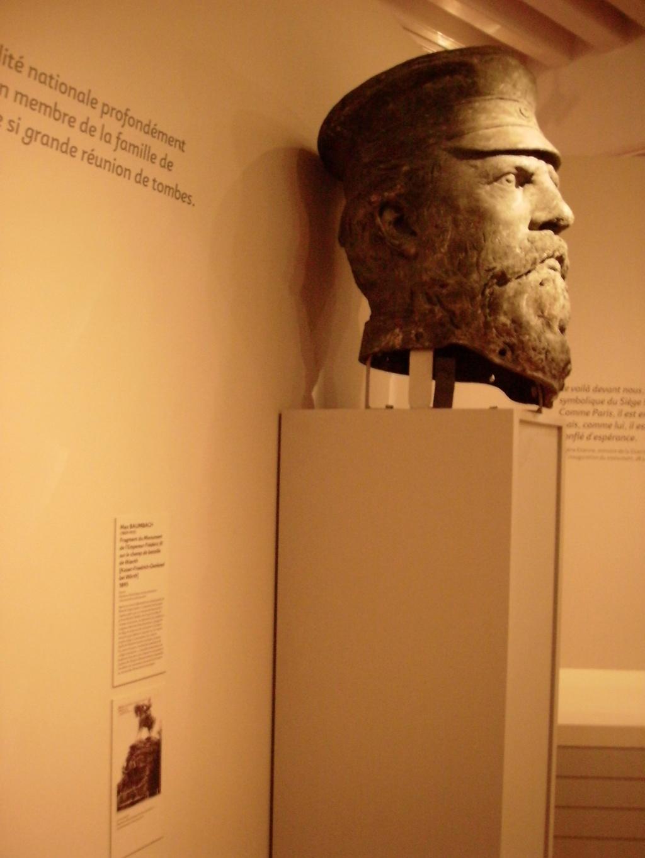 La tête de Frederic III revient à Woerth. P5240110