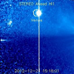 Observando algo cerca del Sol ¿...? Ahead_26