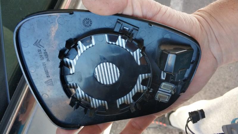 Fallo cámara 360 espejo retrovisor 20190415