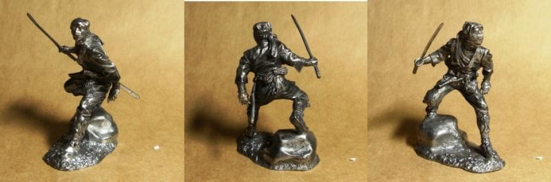 Ninja - 54mm (Metal Tin Toys) Fig-0110