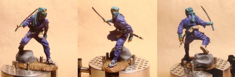 Ninja - 54mm (Metal Tin Toys) Fig-0410